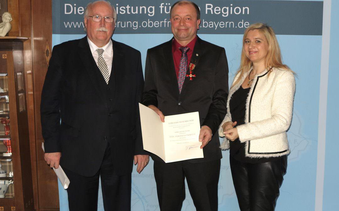 Bundesverdienstkreuz für Gregor Tischer