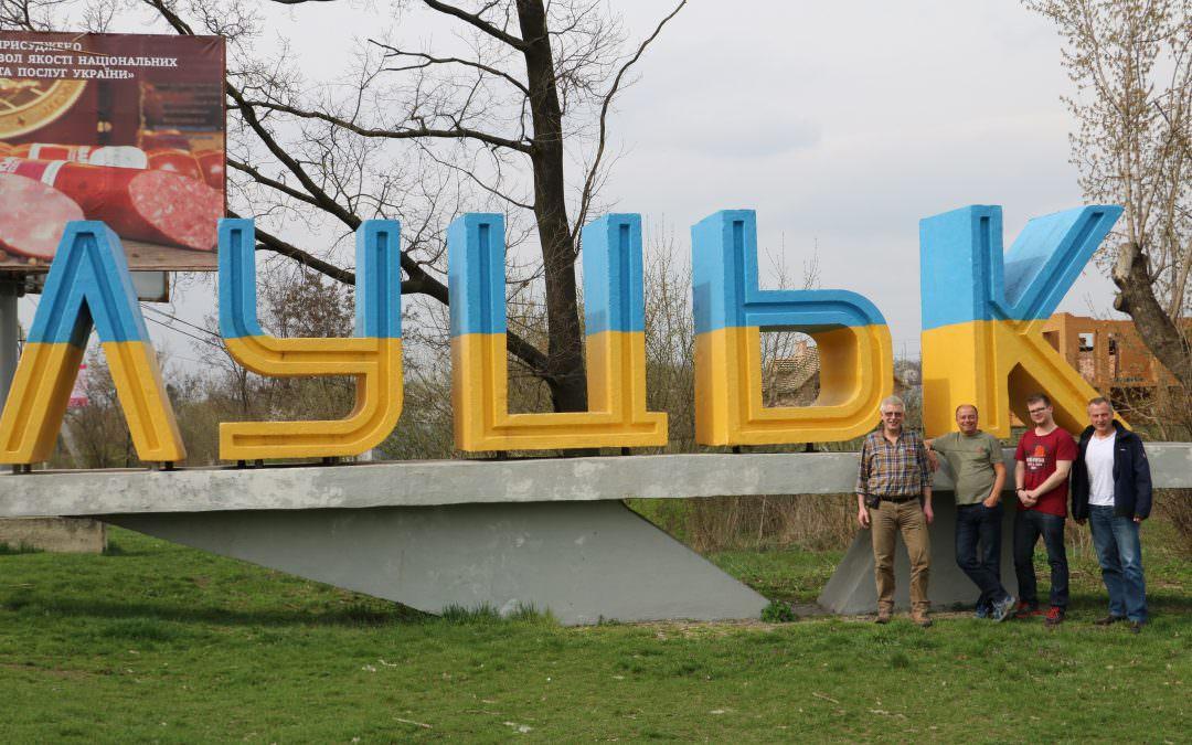 Besuchsfahrt zu den 4 Suppenküchen in der Westukraine